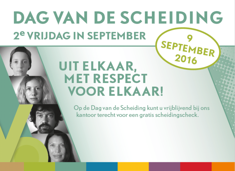Gratis advies over scheiden tijden de vFAS Dag van de Scheiding | Vrijdag 9 september 2016